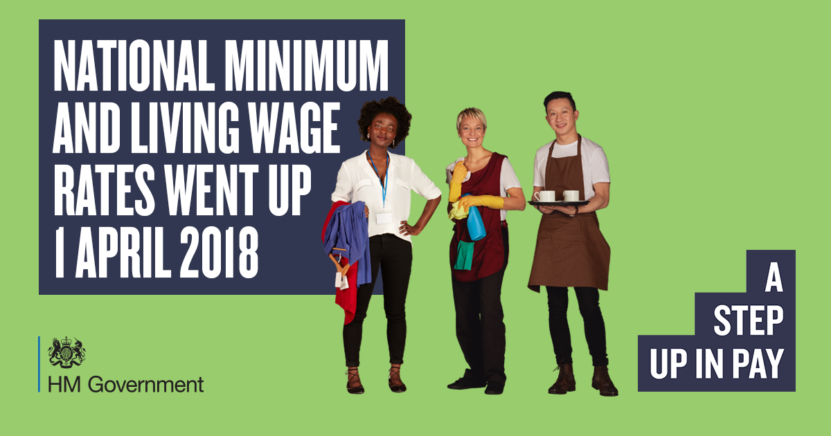 National Living Wage workers set for £600 pay rise from 1 April