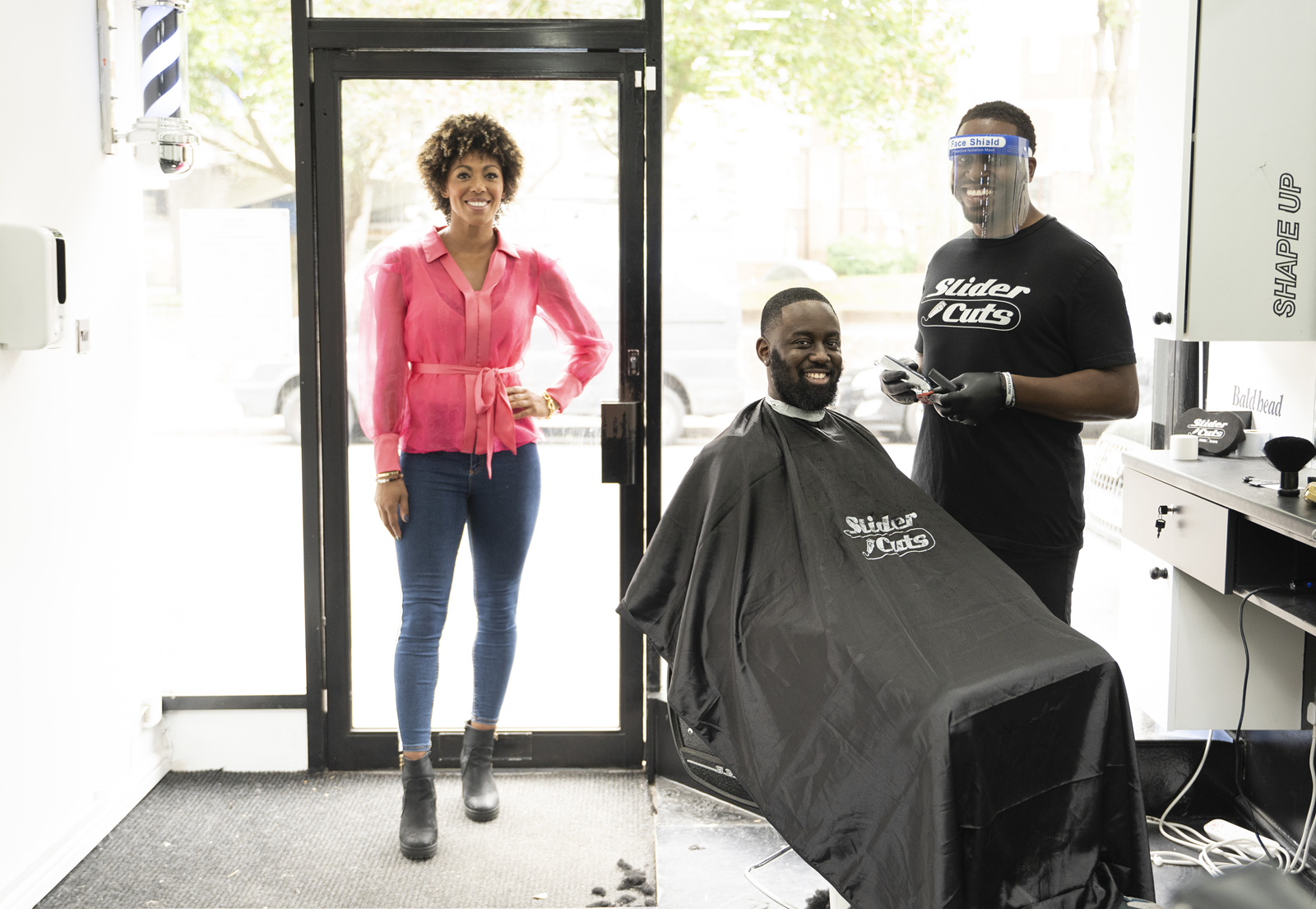 Covid-19 - Staying safe in barbershops and hair salons