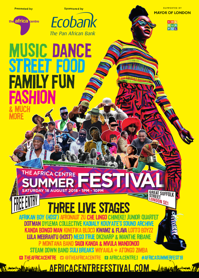 The Africa Centre Summer Festival 2018