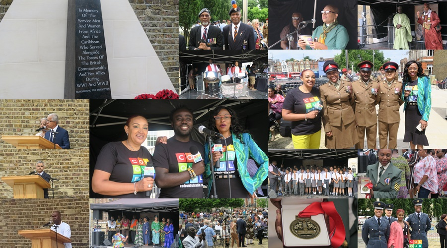 First UK memorial to African and Caribbean veterans unveiled
