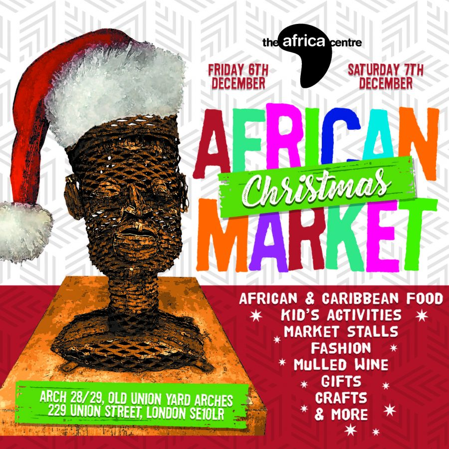 LIVE from The Africa Centre Christmas Market