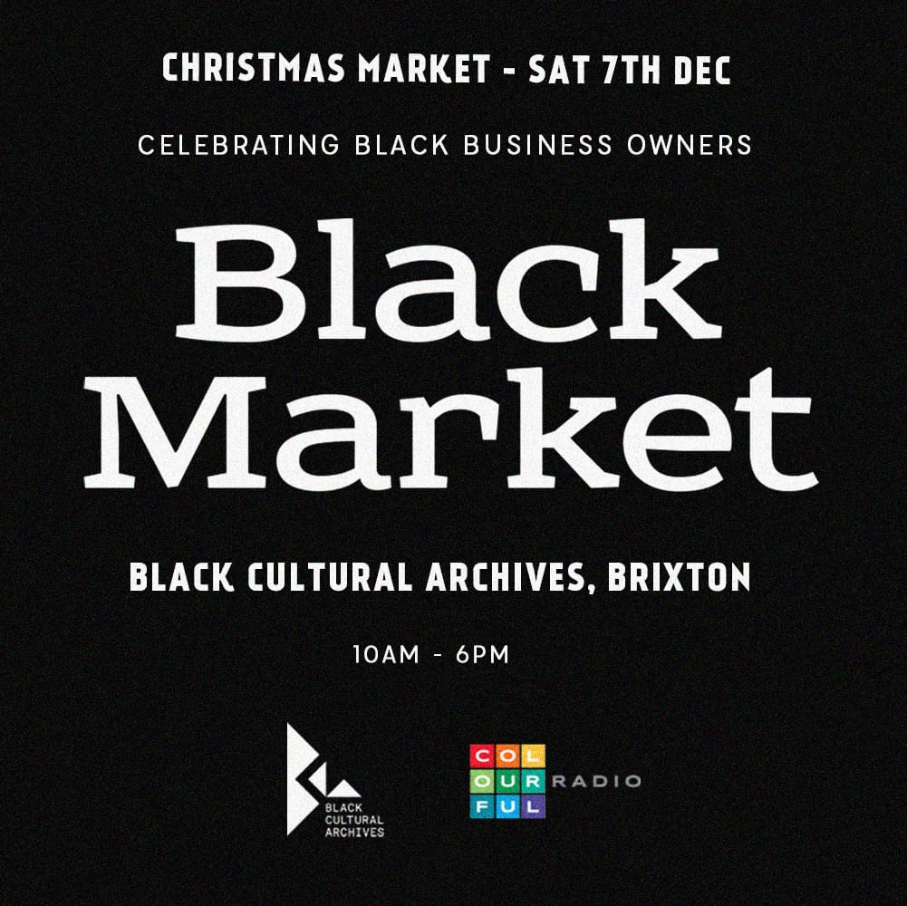 LIVE at Black Cultural Archives Christmas Market