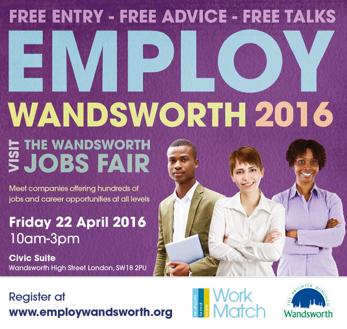 Employ Wandsworth Jobs Fair