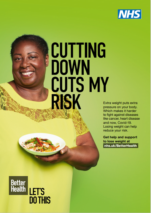 Black People Encouraged To Lose Weight And Cut Covid-19 Risk