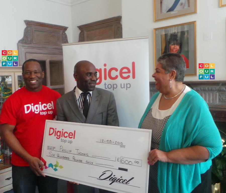 Digicel - Start the Year On Us winner - Phillip Thomas