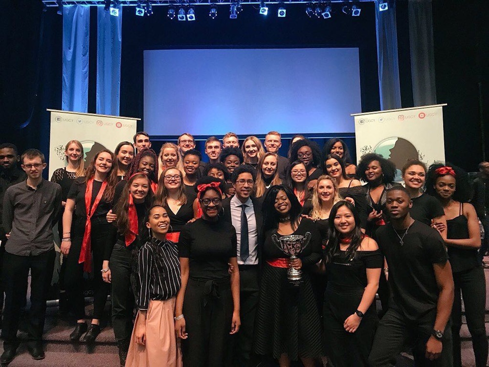 UGCY 2018 Winners - Manchester Harmony Gospel Choir