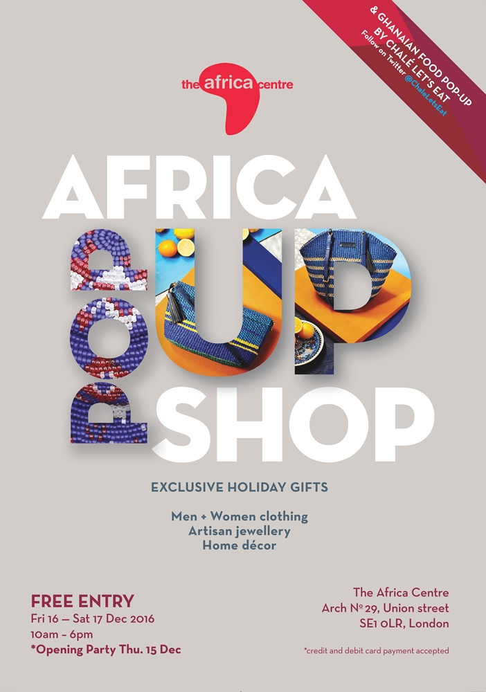 The Africa Pop-Up Shop