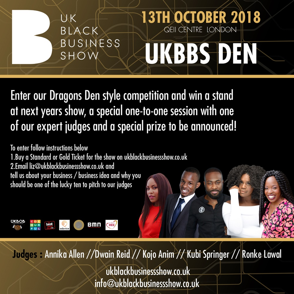 UK Black Business Show 2018