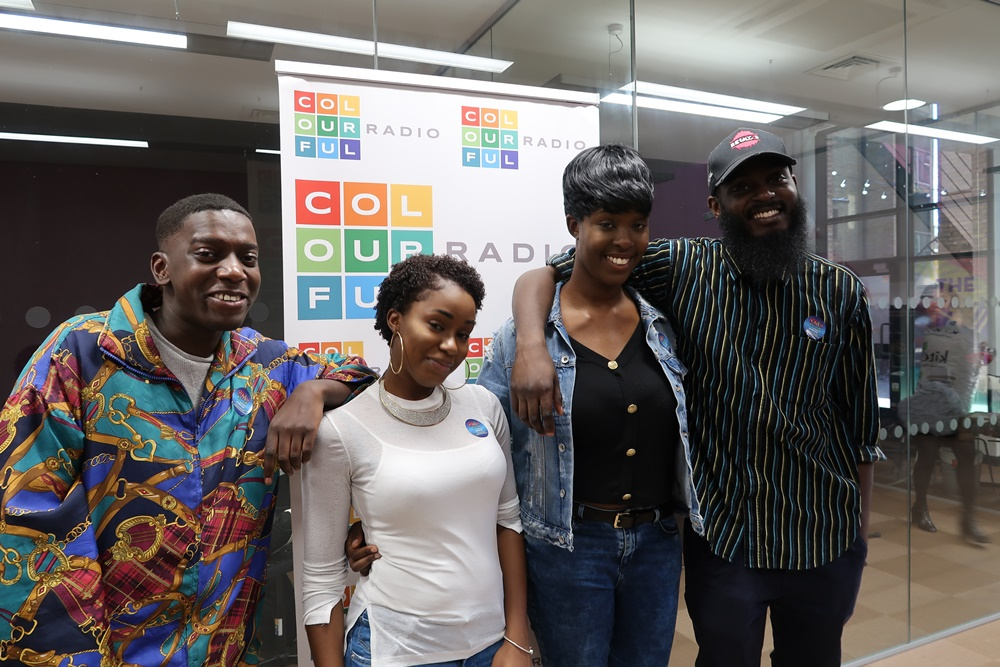 The Cast from Afrobeats musical Oliva Tweest
