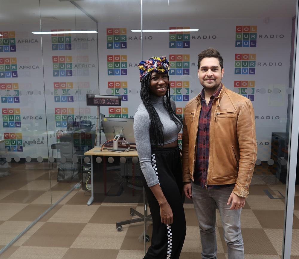 Danielle Kassaraté and Oliver Kaderbhai