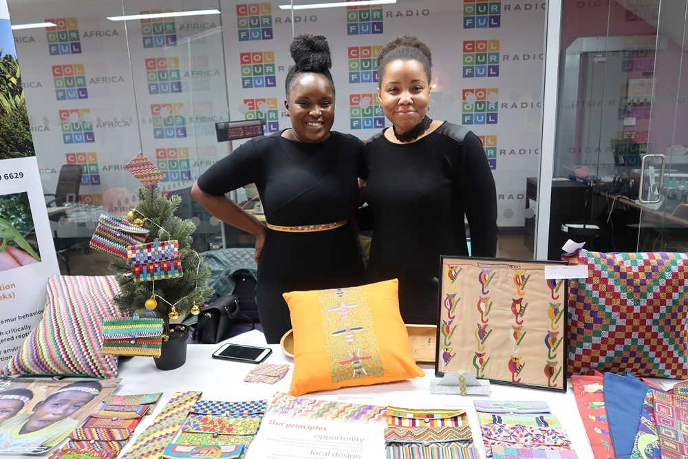 Colourful Radio Live Broadcast from the African Christmas Market
