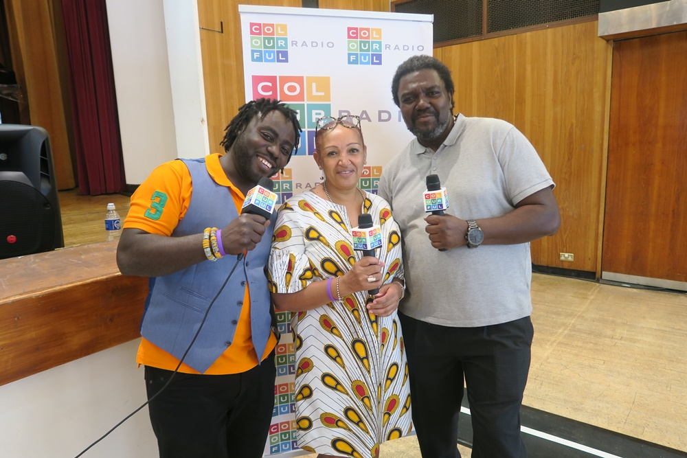 Colourful Radio LIVE Broadcast from Employ Wandsworth 2018