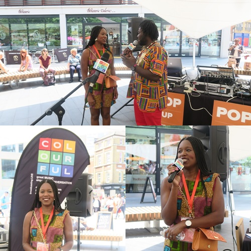 Colourful Radio Broadcast LIVE from Pop Up Africa