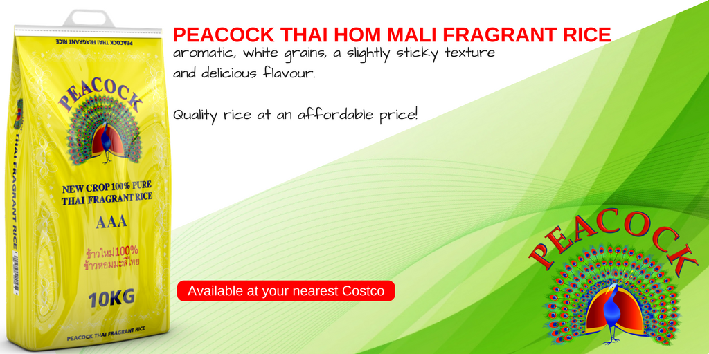 Peacock Thai Hom Mali Fragrant Rice