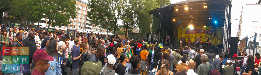 ‏Colourful Radio Broadcast from The Africa Centre Summer Festival 2018
