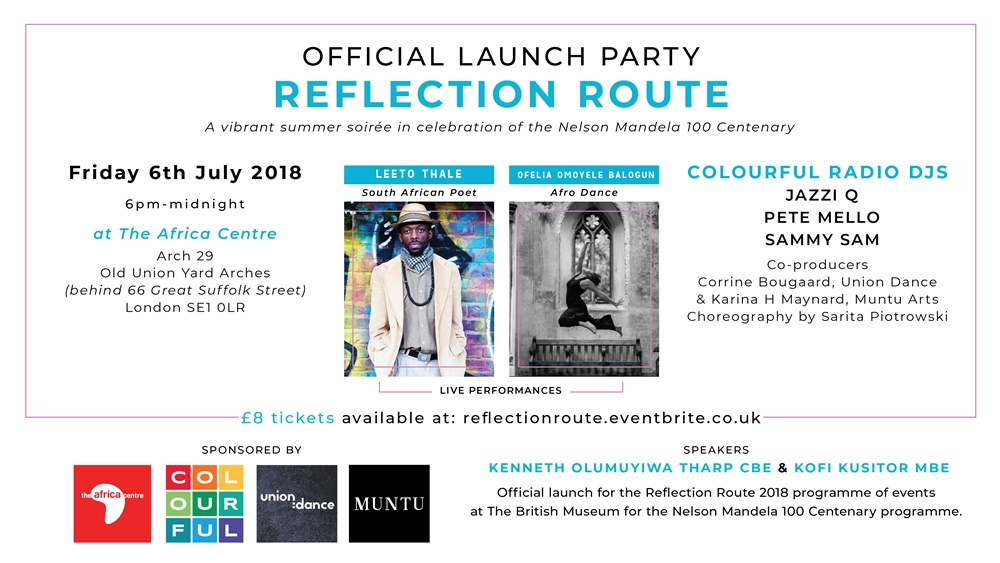 Reflection Route Launch Party