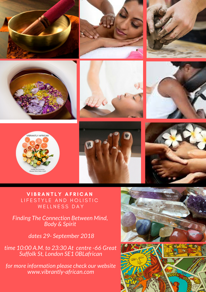 Vibrantly African Lifestyle And Holistic Wellness Event
