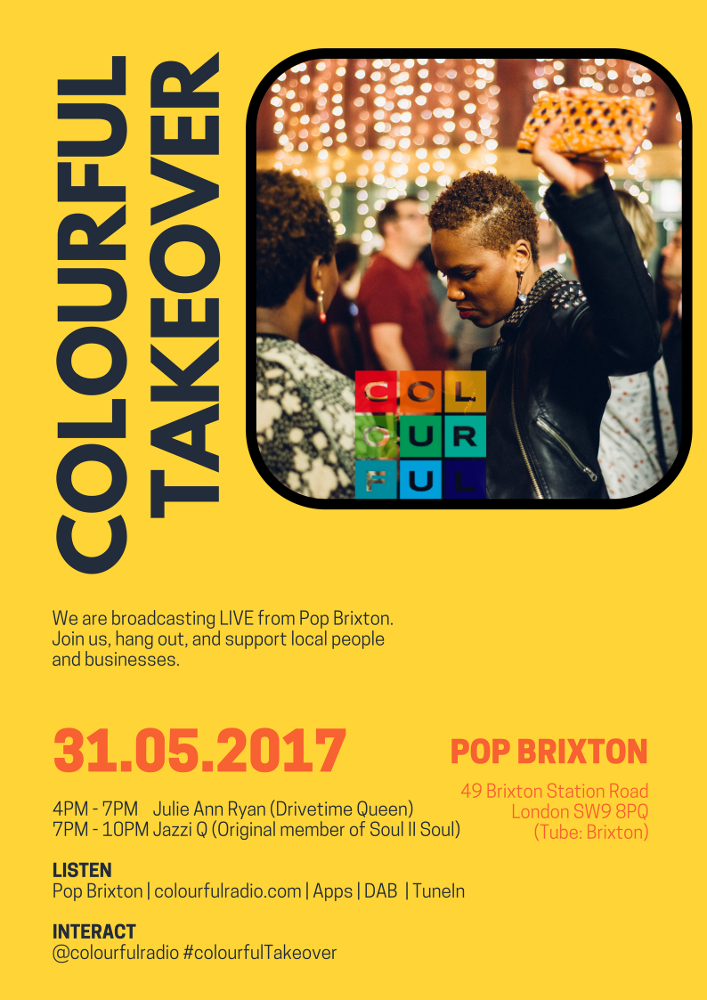 COLOURFUL TAKEOVER - Pop Brixton