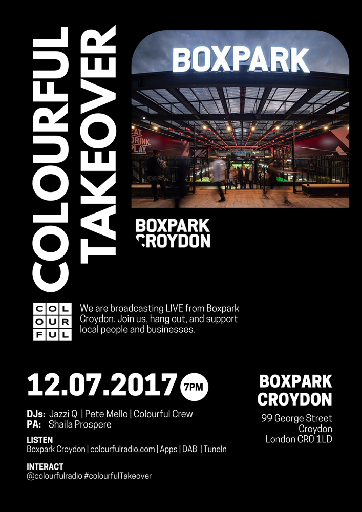 COLOURFUL TAKEOVER: Boxpark Croydon