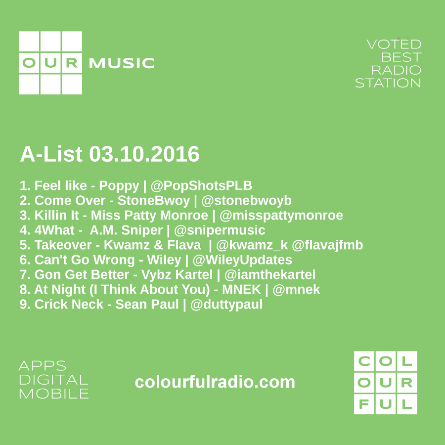 A-List Playlist