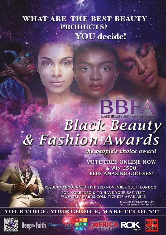 The Black Beauty and Fashion Awards 2017