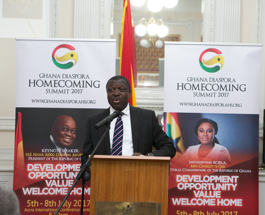 Diaspora Homecoming Summit 2017 At Ghana High Commission, London