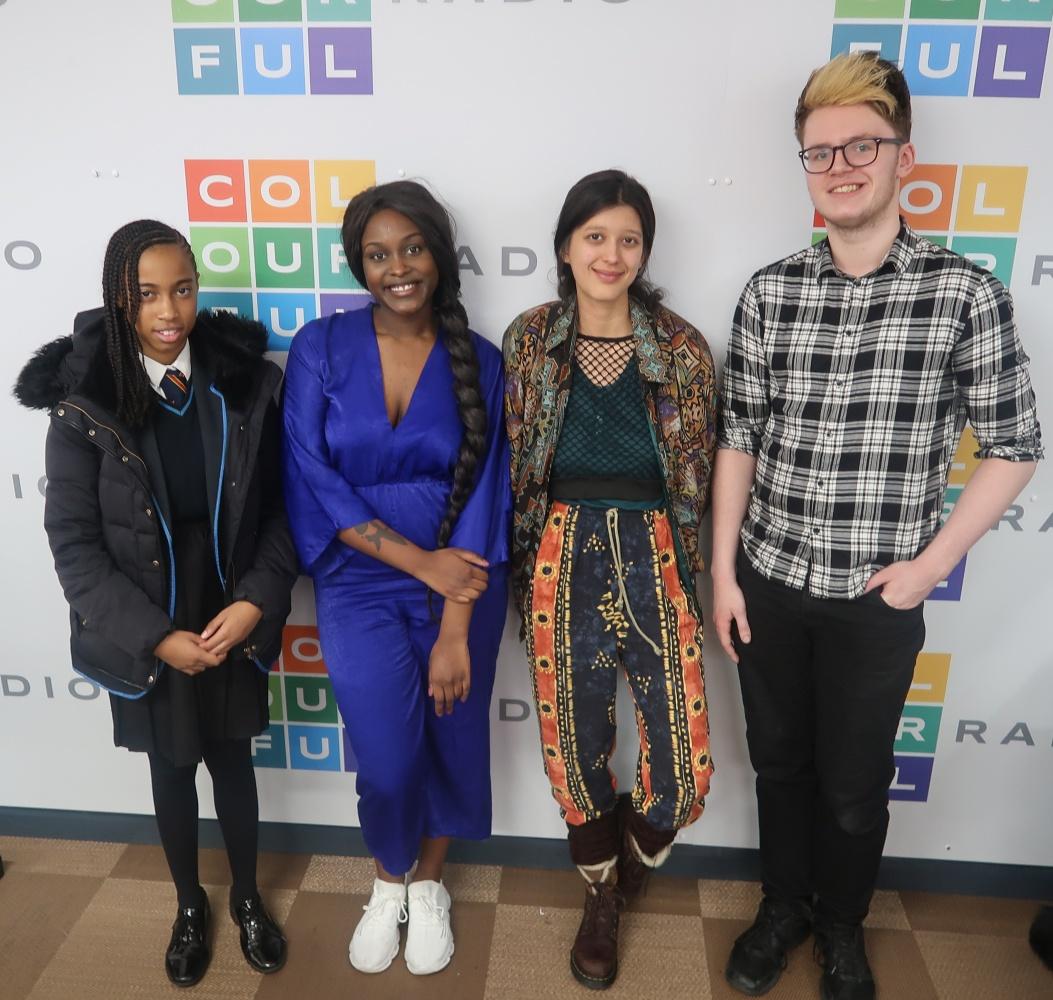 Jennesseur, Ysabel Gregorio De Souza, Ella McKenzie and Harry Miles