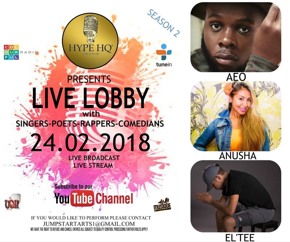Live Lobby - AEO,Anusha andEL'TEE