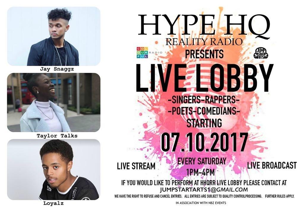 Live Lobby - Jay Snaggz, Taylor Talks and Loyalz