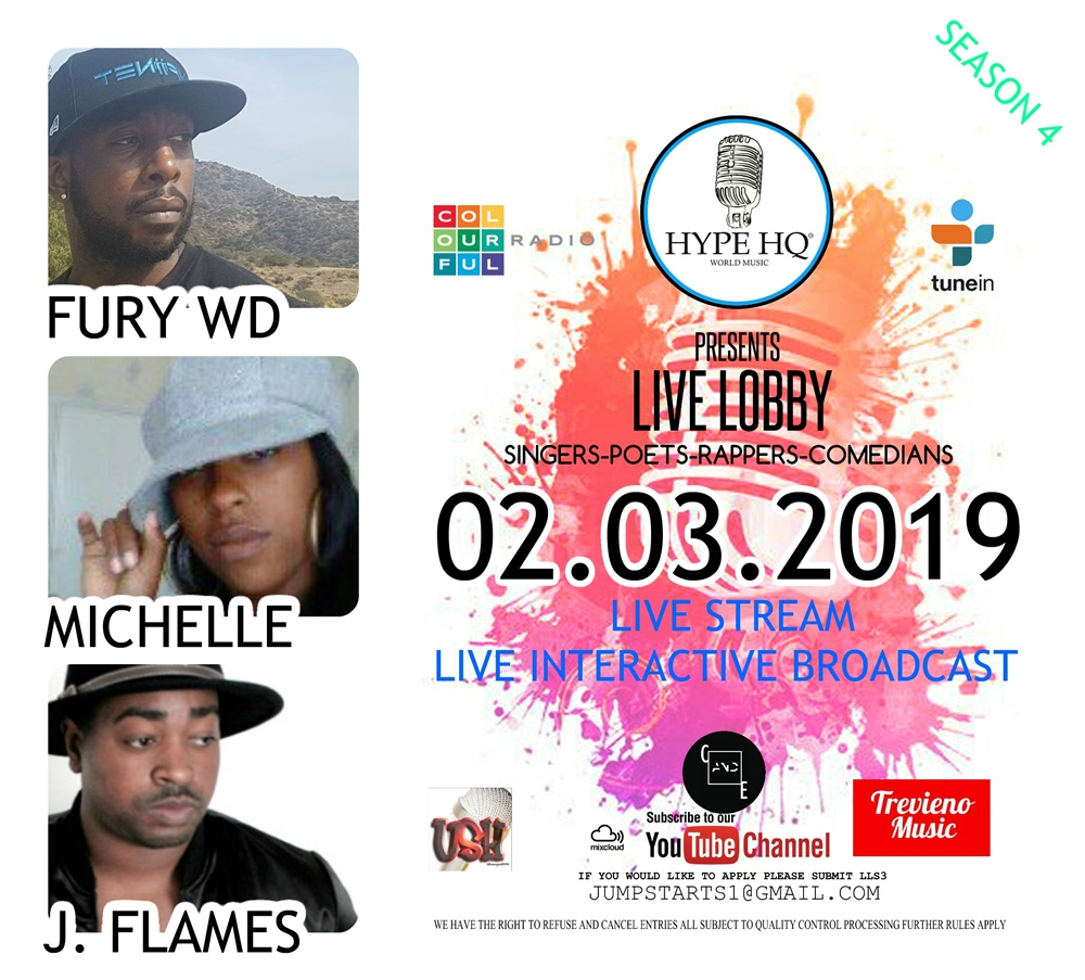 Live Lobbey - Fury WD, Michelle, J. Flames