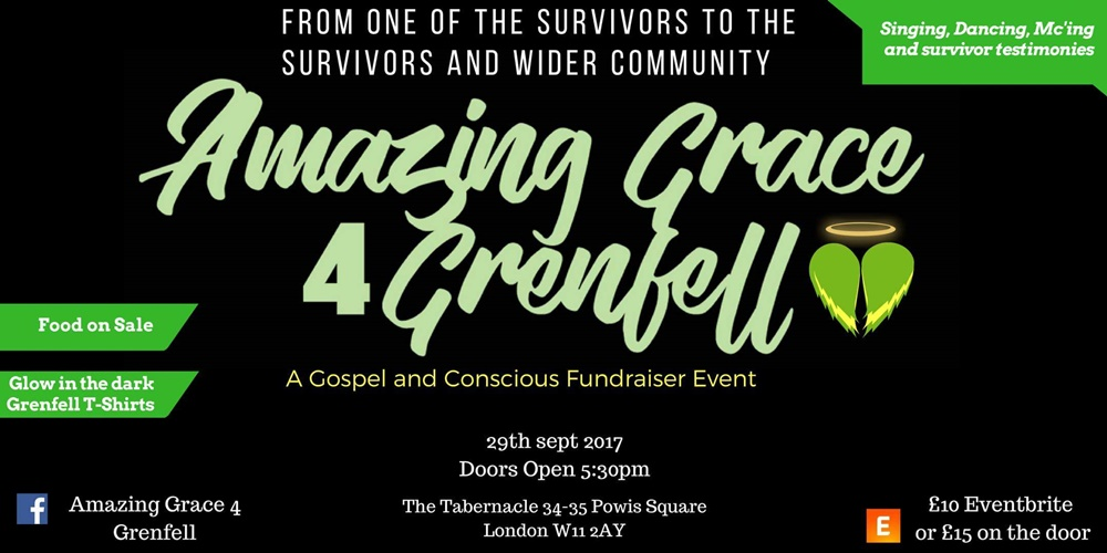 Amazing Grace 4 Grenfell