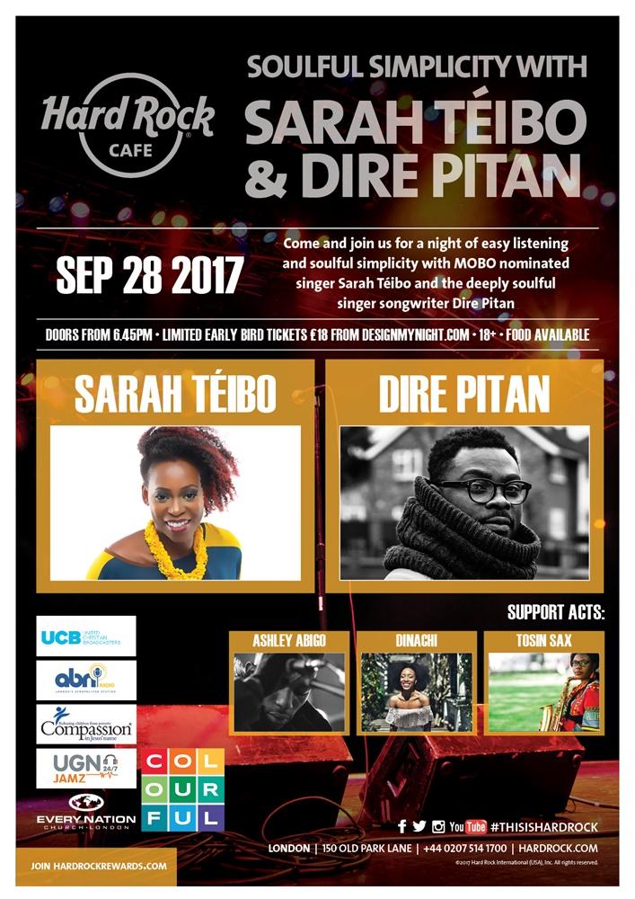 Soulful Simplicity With Sarah Téibo & Dire Pitan