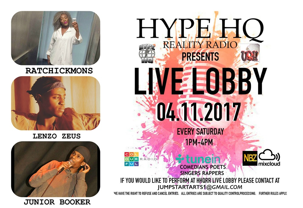 Live Lobby - Ratchickmons, Lenzo Zeus and Junior Booker