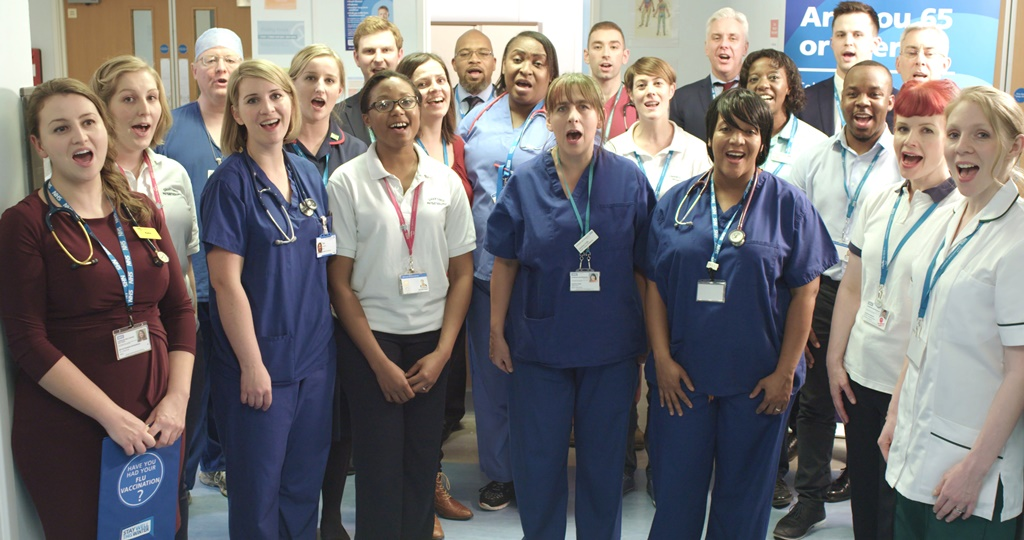 Lewisham and Greenwich NHS Choir supports national Stay Well This Winter campaign