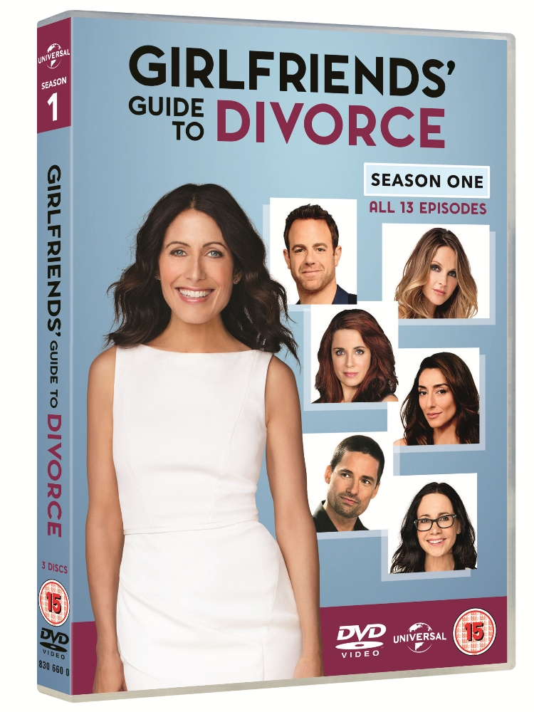 Win a DVD copy of GIRLFRIENDS' GUIDE TO DIVORCE