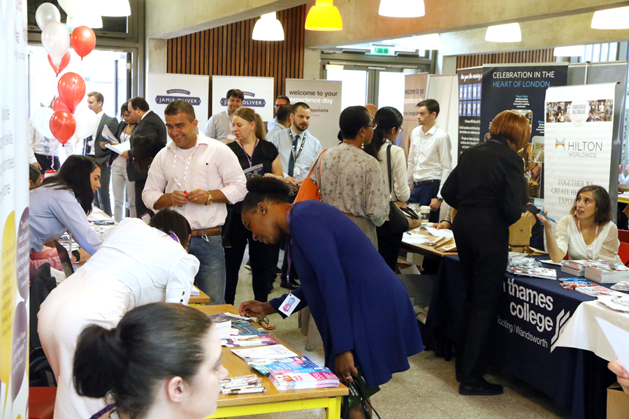 Exhibit at the London Jobs Fair – East