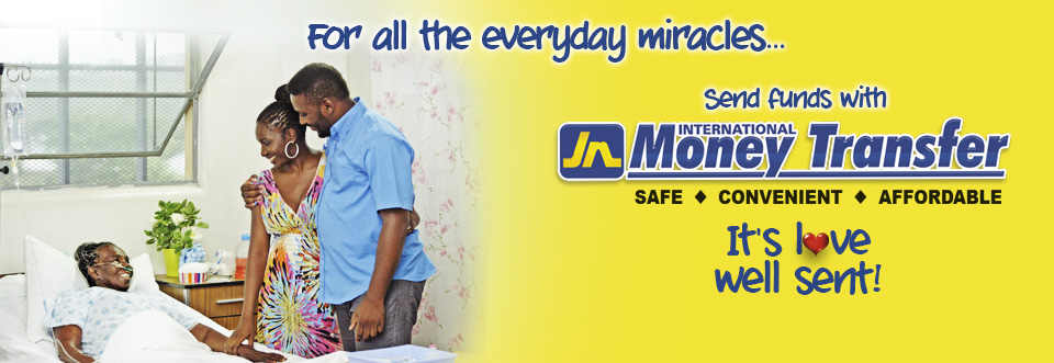JN Money Transfer - For all the everyday miracles .... Call 0800-328-1622