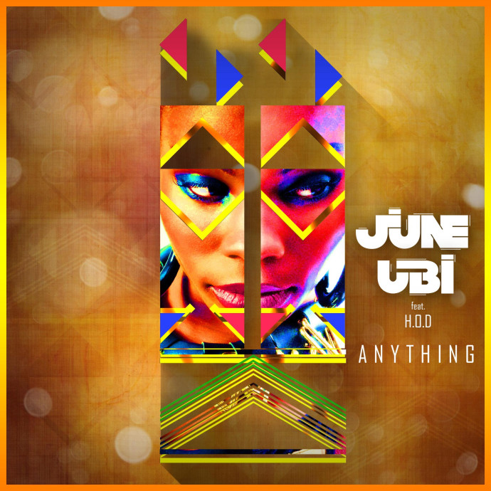 June Ubi new single - Anything - plays Sat 10.07am