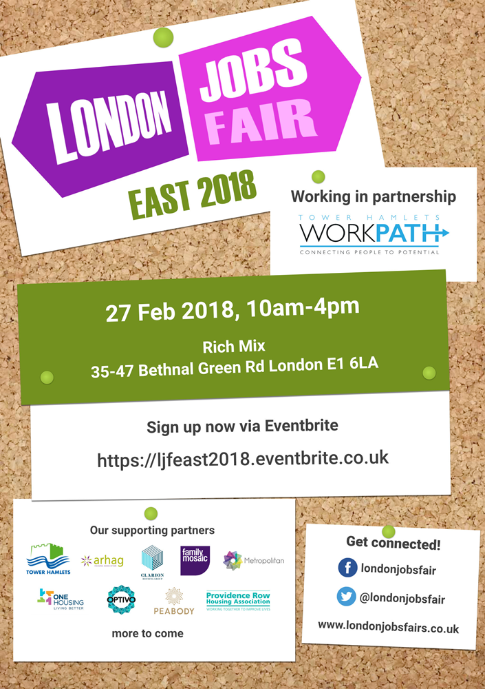 London Jobs Fair - EAST