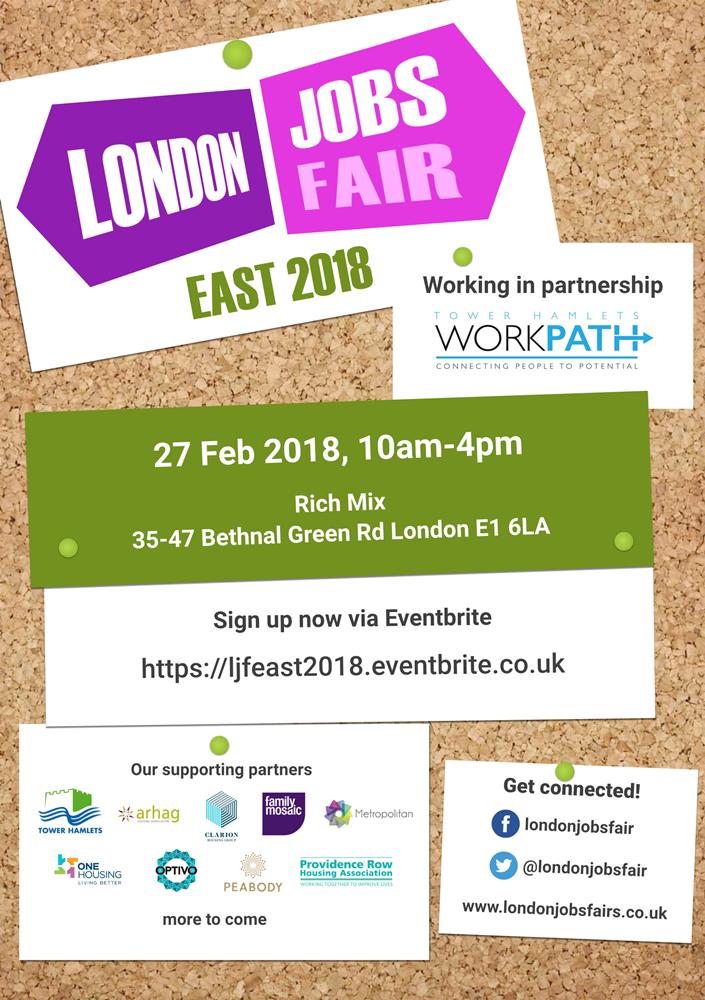 London Jobs Fair - EAST