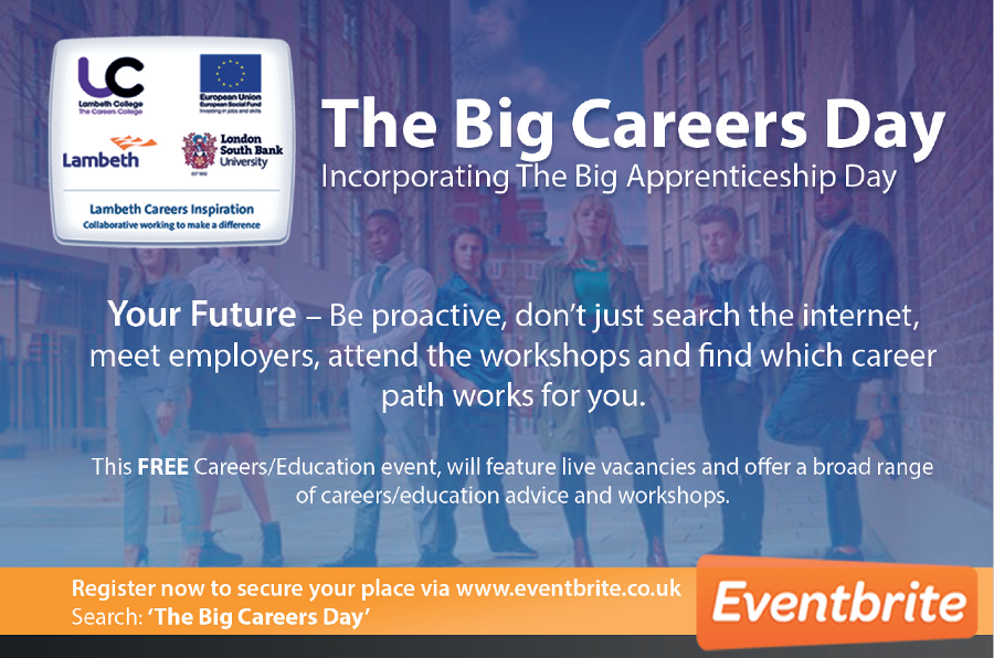 Lambeth - The Big Careers Day incorporating The Big Apprenticeship Day