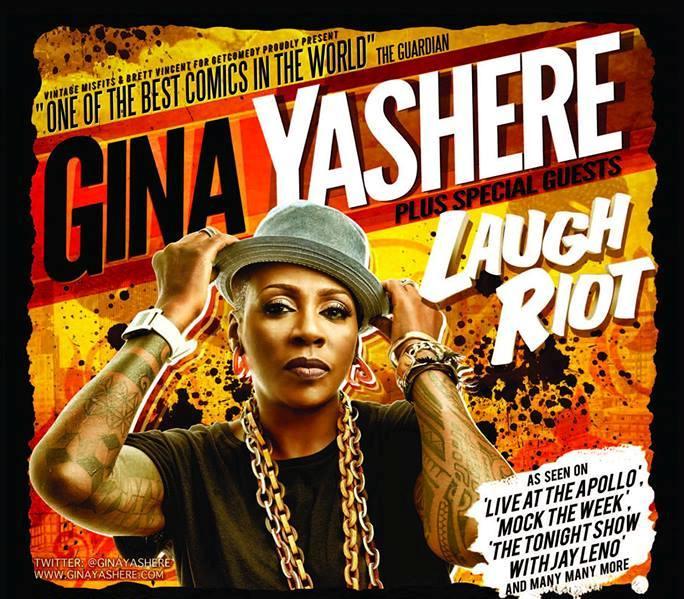 Gina Yashere Laugh Riot Tour