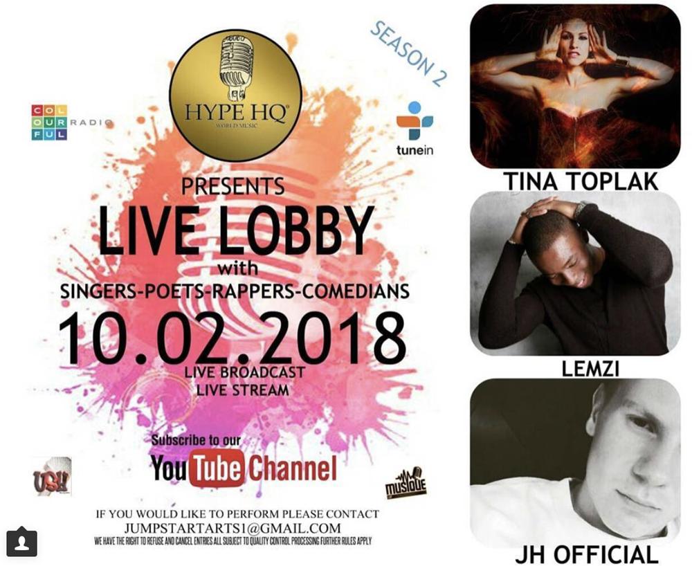 Live Lobbey - Tina Toplak, JH Official, Lemi