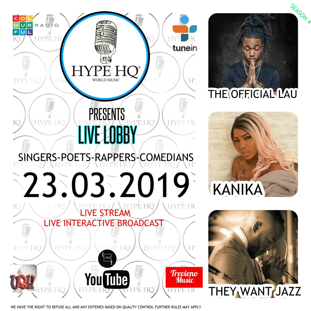Live Lobbey - The Official Lau, Kanika, They Want Jazz