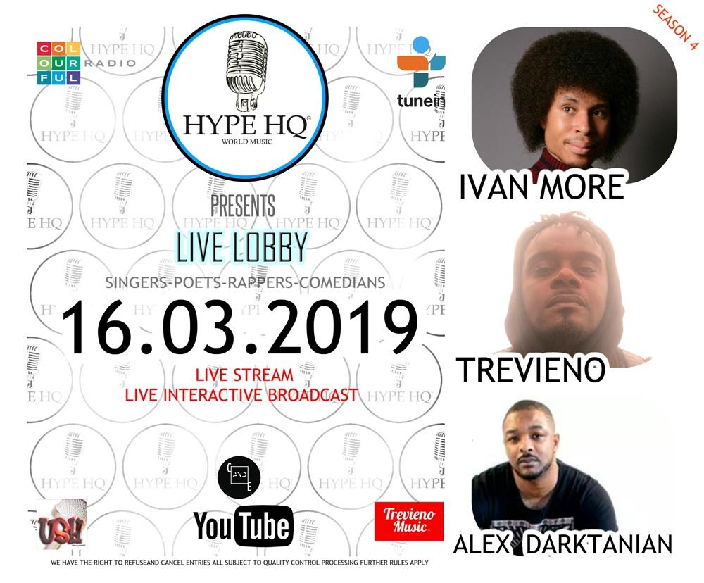 Live Lobbey - Ivan More, Trevieno, Alex Darktanian