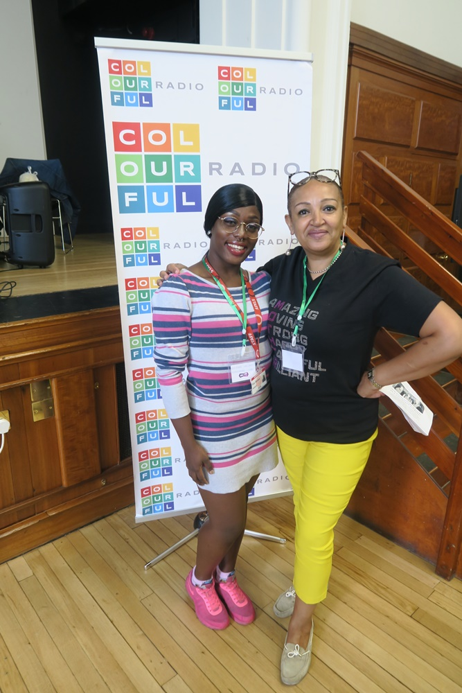 Colourful Radio LIVE from London Jobs Fair - South