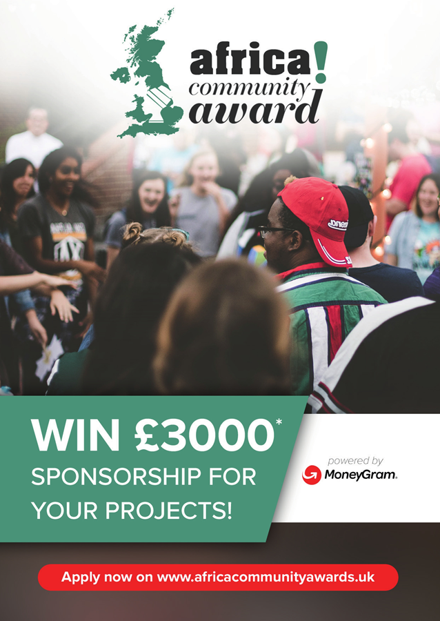 Africa Community Award honours African projects in the United Kingdom