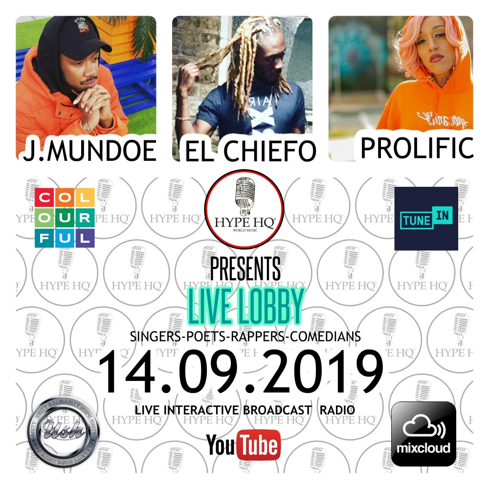 Live Lobbey Live Lobbey Season 5 - J. Mundoe, El Chiefo and Prolific
