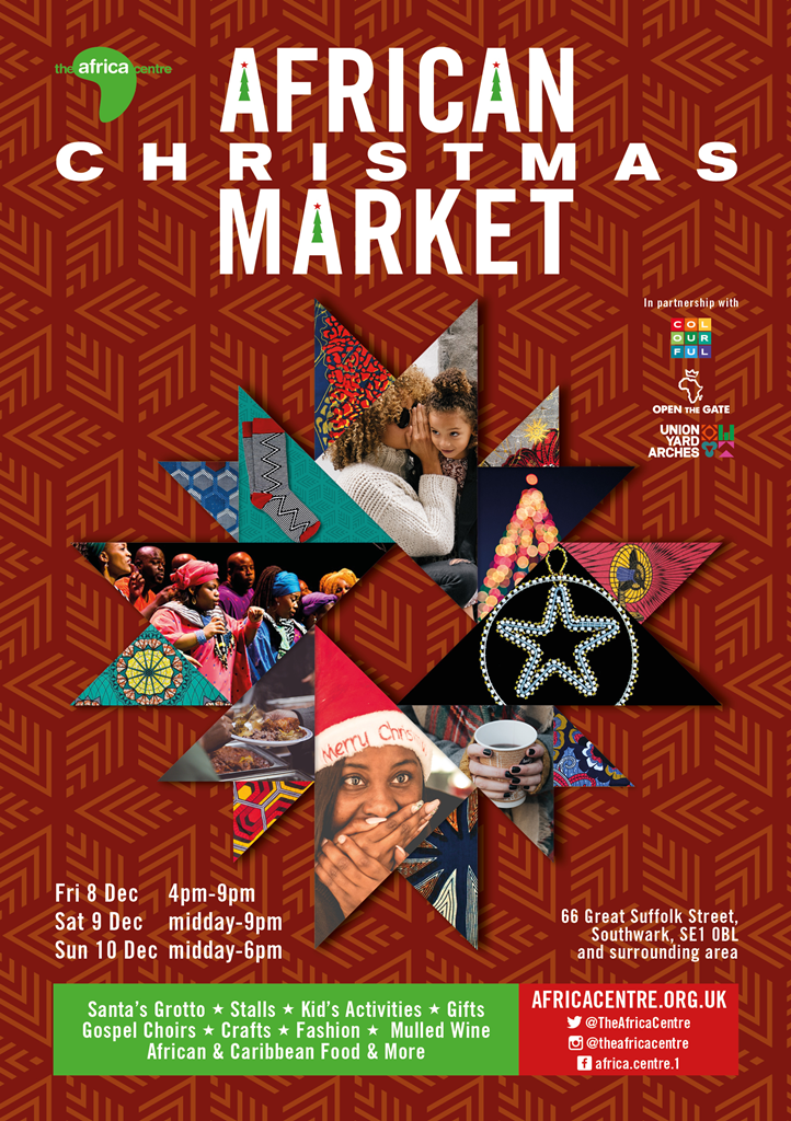 Colourful Radio broadcasts LIVE from African Christmas Market