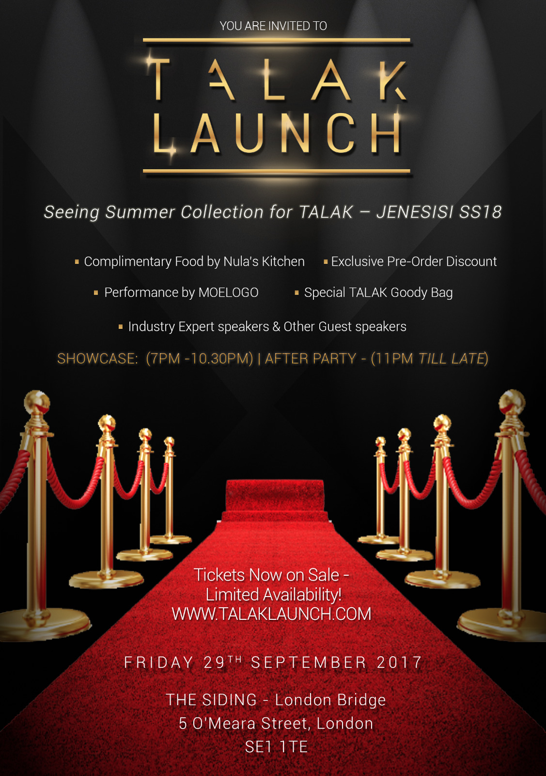 TALAK Launch